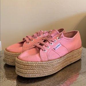 Pink Superga Sneaker